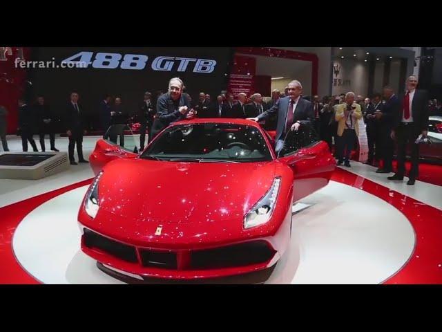 Ferrari 488 GTB - Unveiling at the Geneva International Motor Show