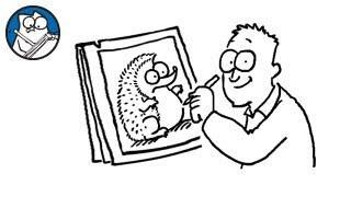 Simon Draws: The Hedgehog