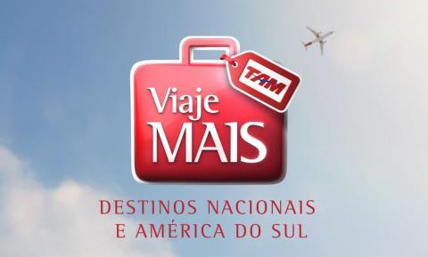 """Viaje Mais TAM - Destinos Nacionais e América do Sul 30"""""""