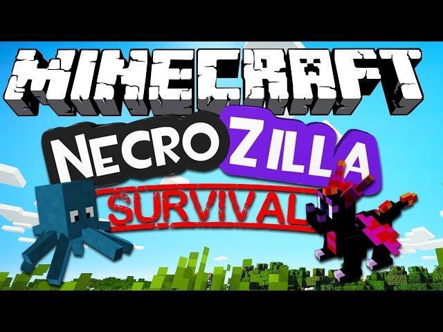 NecroZilla Survival! - Minecraft #1