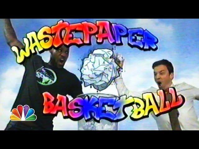 Wastepaper Basketball (Jimmy Fallon & LeBron James)