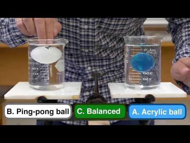 Explained: Beaker Ball Balance Problem
