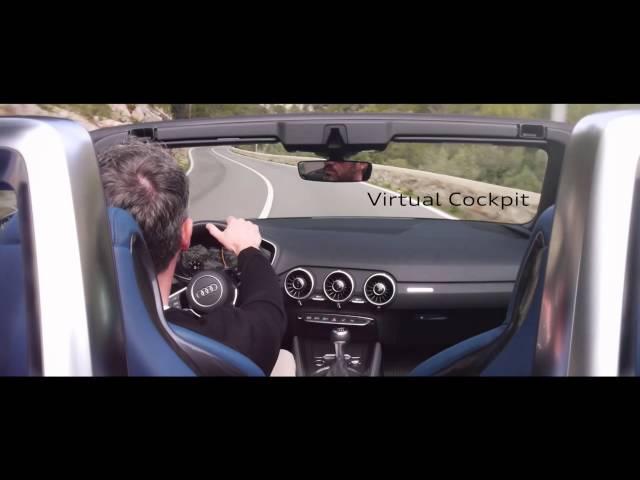 The all-new Audi TT Roadster in Majorca