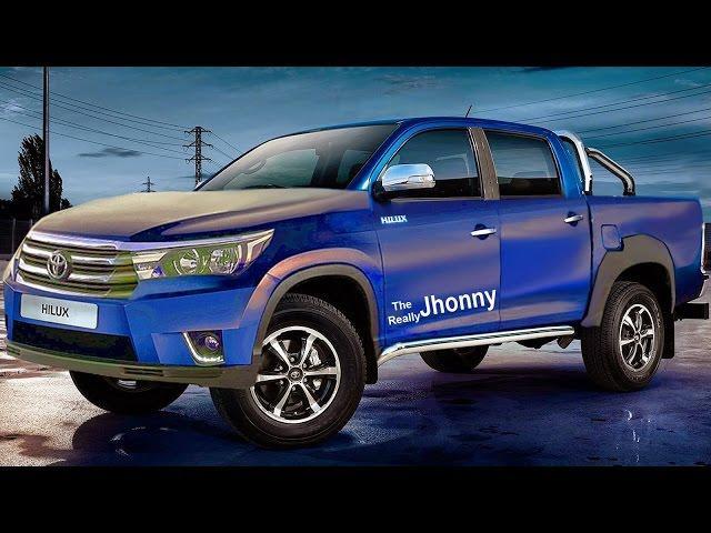 PRÉVIA Nova Toyota Hilux 2015