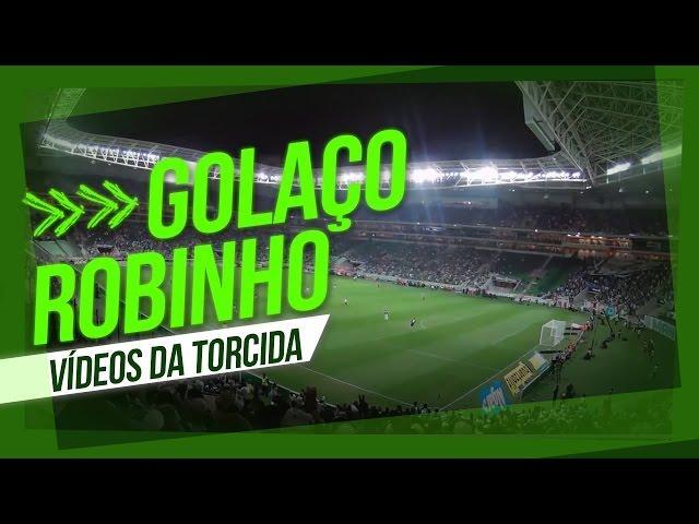 VÍDEOS DA TORCIDA: O gol de placa de Robinho contra o São Paulo