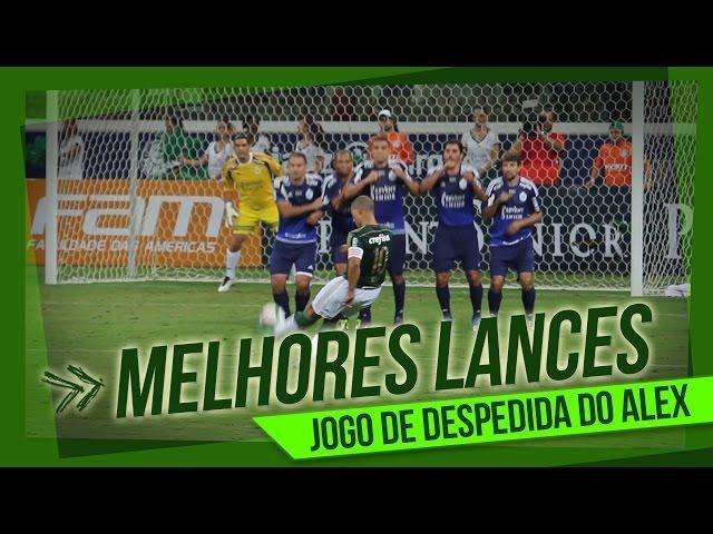 Melhores lances - Palmeiras de 99 6 x 3 Amigos do Alex - Evento de despedida