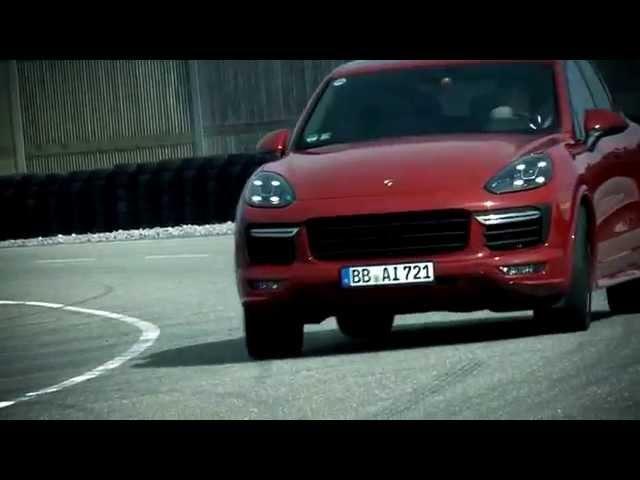 The new Porsche Cayenne GTS  - Test drive with Walter Röhrl