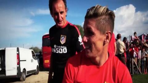 Los increibles entrenamientos del 'Profe' Ortega ◉ Atletico de Madrid ◉ 2015