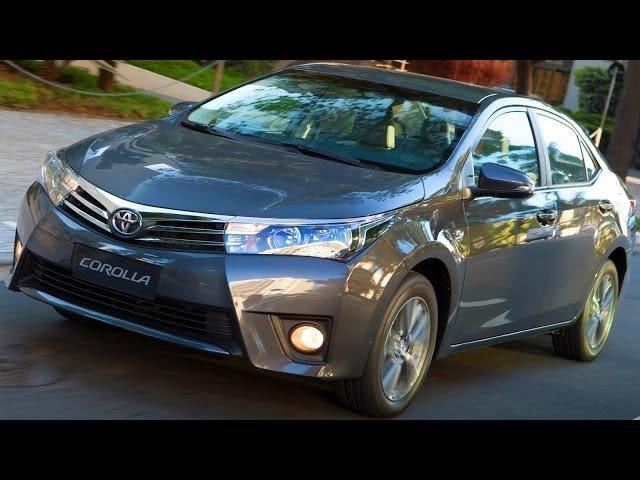 LANÇAMENTO R$ 69.990-R$ 79.990 Novo Toyota Corolla 2015 XEi 2.0 Aut aro 16 154 cv 0-100 kmh 9,6 s
