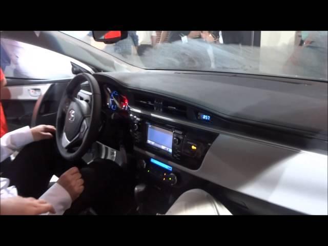 INTERIOR Novo Toyota Corolla 2015 XEi 2.0 Aut