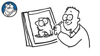 Simon Draws: The Kitten