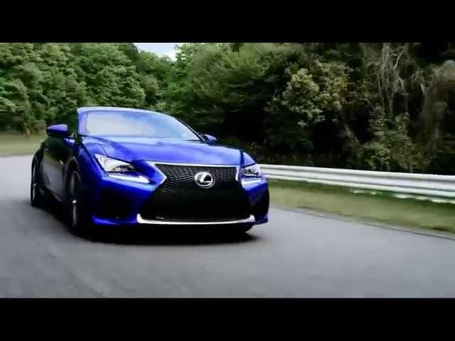 PERFORMANCE Lexus RC-F 2015 RWD aro 19 5.0 V8 467 cv 300 kmh 0-100 kmh 4,5 s @ Monticello Motor Club