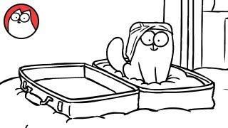 Suitcase - Simon's Cat