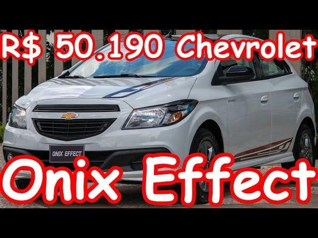 R$ 50.190 Chevrolet Onix Effect 2015 aro 15 1.4 Flex 106 cv