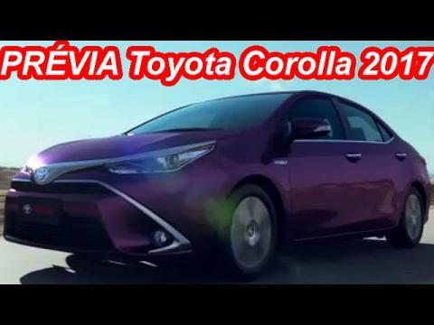 PRÉVIA Toyota Corolla 2017 Facelift @ Levin