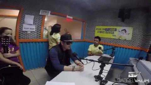 Gabriel Valim na Estrada - Atual FM - Concórdia SC (Websérie Episódio 03)