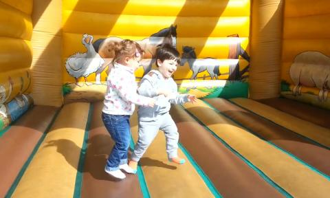 Cute Babies in Bouncy Castles Compilation 2016