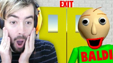 VAMOS FUGIR DO BALDI!!! JOGAR BALDI NO EXTREMO! | Baldi's Basics In Education and Learning