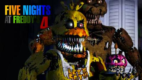 A ÚLTIMA NOITE? - Five Nights At Freddy's 4 - #3